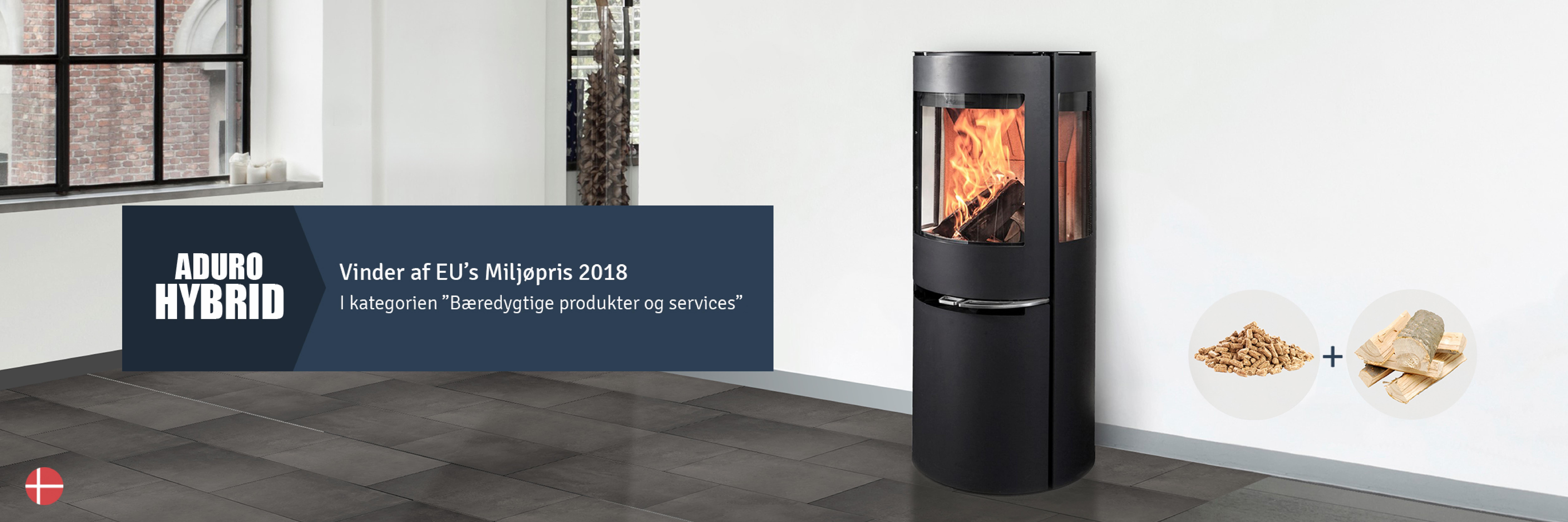 Super Brændeovn | Find de bedste brændeovne på Aduro.dk DM32